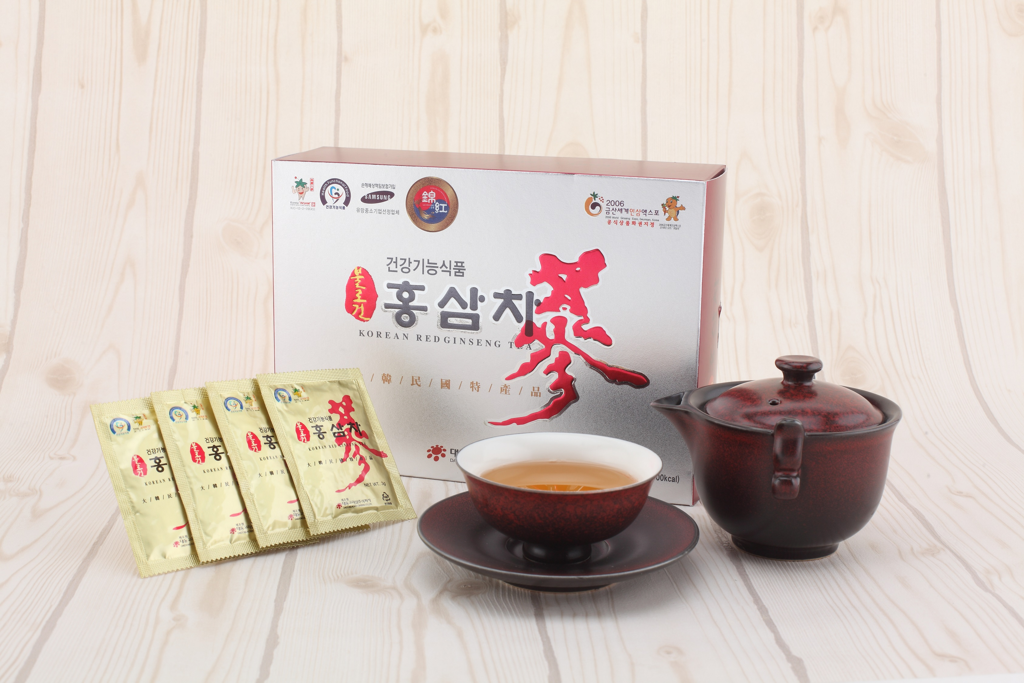 Korean Red Ginseng Tea