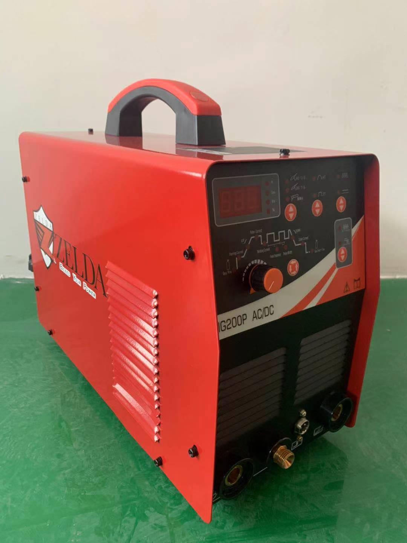 TIG-200P Welding Machine Inverter Digital Igbt Ac Dc Tig Welder Digital