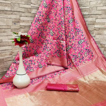Kota silk sari with latest design ladies wear Indian style with low price