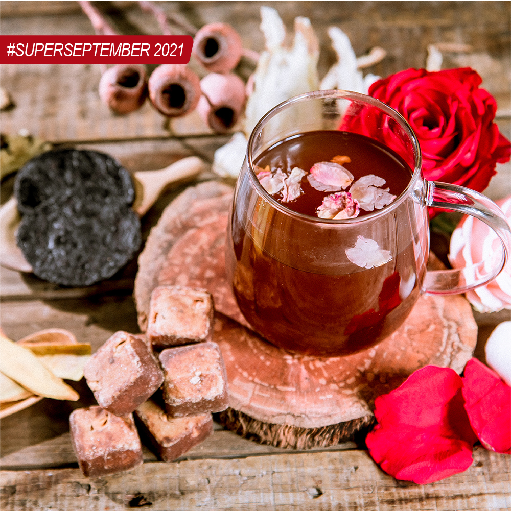 Private Label Black Natural Sugar Rose And Siwu  Drink Can Be Used For Direct Brewing
