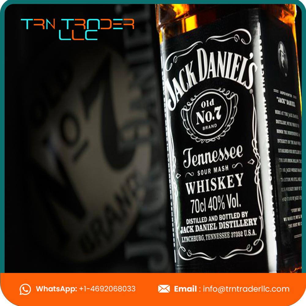 Высококачественный черный спиртовой виски с этикеткой, готов к продаже