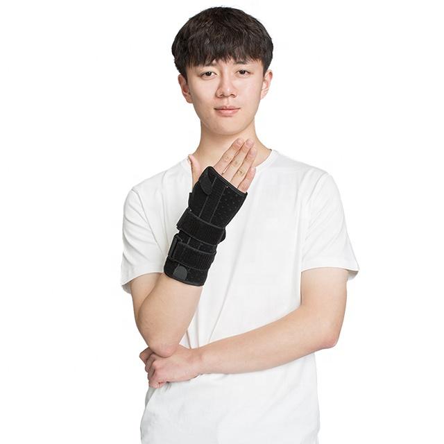 Left and Right Wrist Hand Support Brace Splint for Carpal Tunnel Arthritis Sprain Strain Gym
