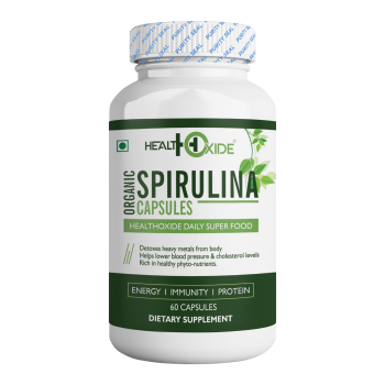 Bulk Supply Good Quality Healthcare Supplement Organic Spirulina Capsule