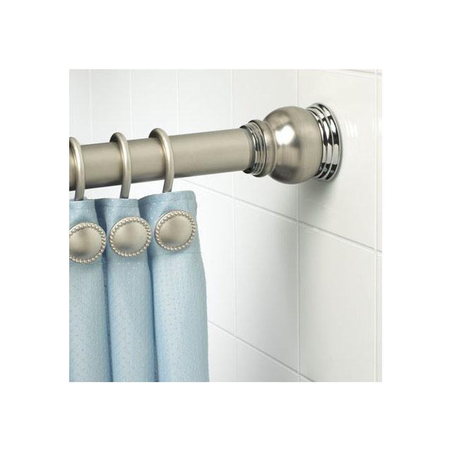 Bathroom Accessories Telescopic Shower Pole Curtain Rod