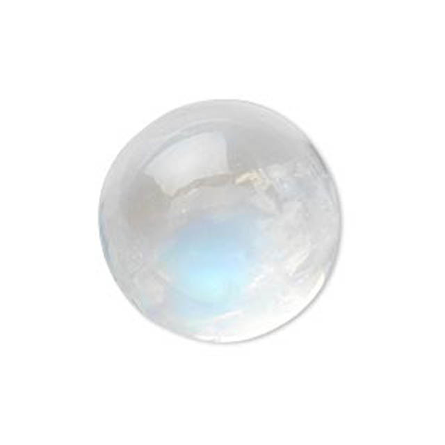 quality size 6 to 10 mm AAA 10pcs Pack Natural Rainbow Moonstone Cabochon
