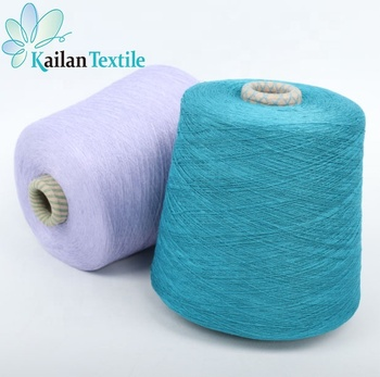 Eco-friendly 1/28NM Anti-Pilling for knitting Single Jersey Yarn Dyed 100% 100 Viscose fabric yarn