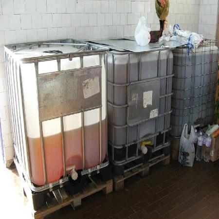 Отходы/используемое кулинарное масло для биодизеля