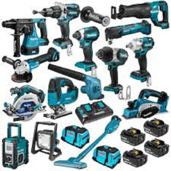 2021 New 100% original Makitas LXT1500 18-Volt LXT Lithium-Ion Cordless 15-Piece Combo Kit / power tool / cordless drill