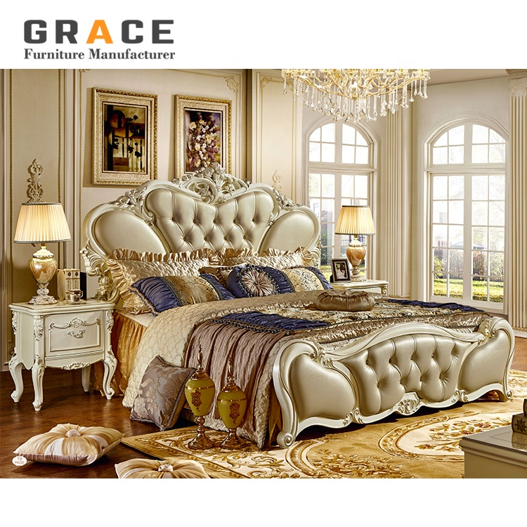 H8811w High Quality Pakistan Wood Wooden Double Bed Designs Price In Pakistan View Pakistan Wood Double Bed Designs Grace Product Details From Foshan Grace Furniture Co Ltd On Alibaba Com