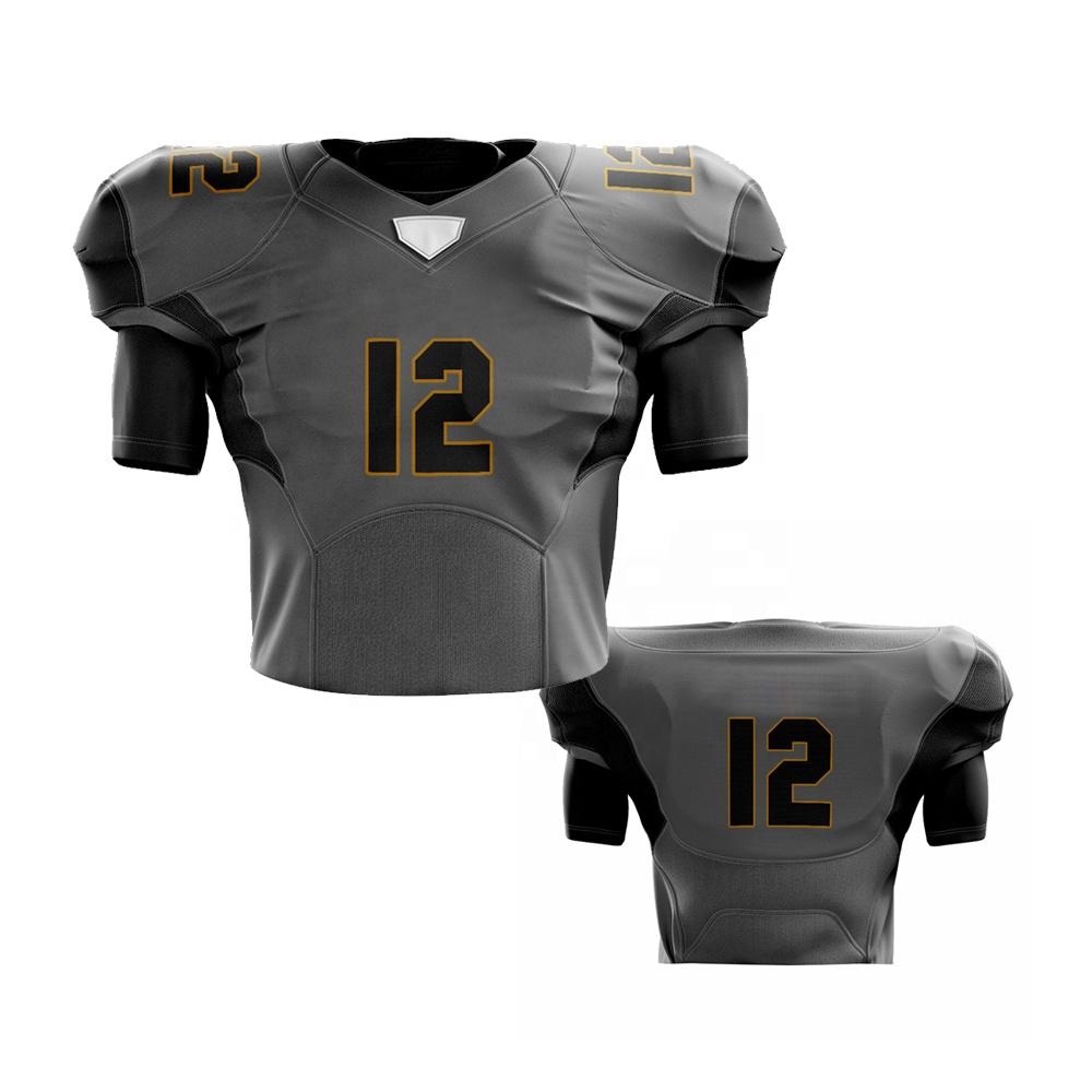 Short Sleeve Fashion Custom Gray Football Shirts Men American Football Jersey - Buy Blank American Football Jerseys/football Jersey For Man,American ...