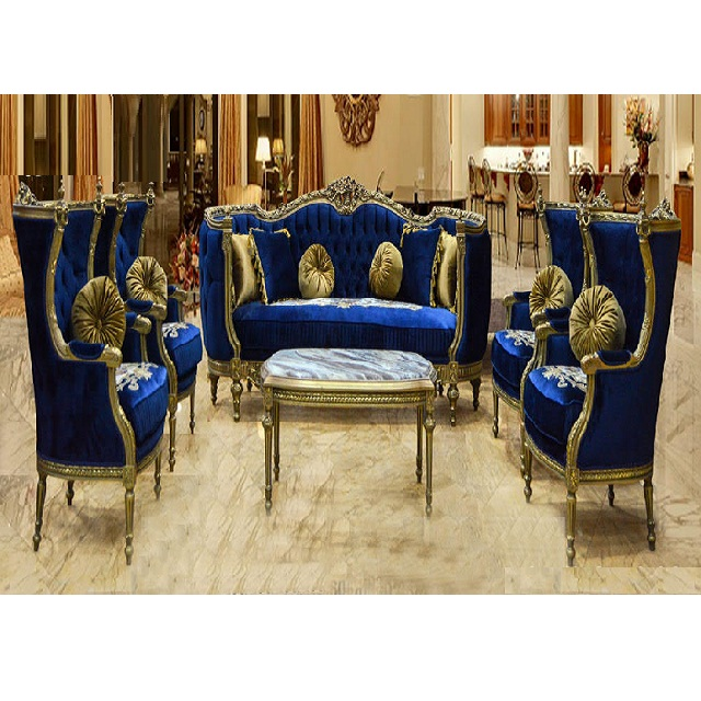 Best Living Room Luxury Teak Sofa Set Luxurious Royal Blue Living Room Furniture Classic Victorian Living Room Sofa Set Buy Wooden Sofa Set Furniture Living Room Furniture Sets Antique Living Room Set Furniture
