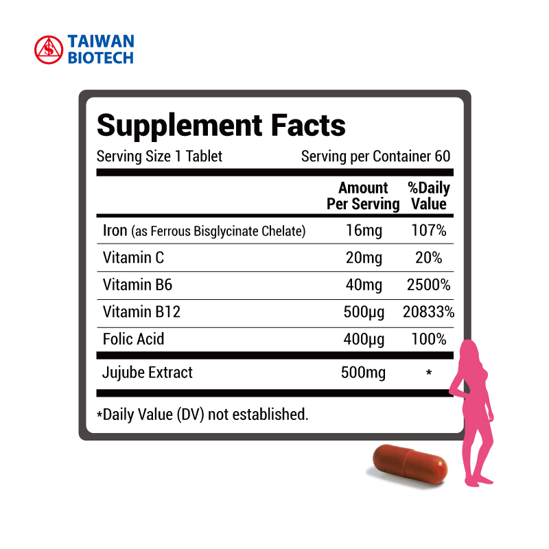 Women Care Iron Vegetarian Capsules Iron supplement