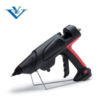 Industrial glue gun with adjustable temperature mode for factory work