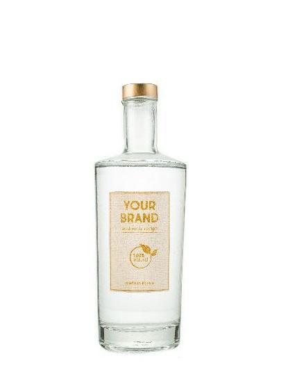 Your logo 12 botanicals 0,7 L bottle  gin OEM
