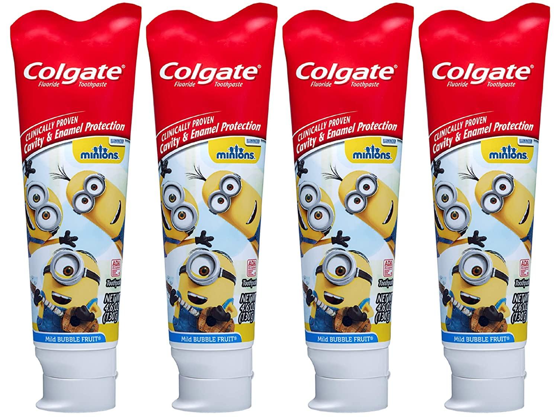 Зубная паста и зубная щетка Colgate для детей