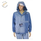 Jacket Hoodie MEN'S DENIM JACKET WITH HOODIE AND FASHION WASHING