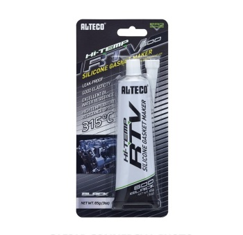ALTECO RTV Silicone Gasket Maker Black Color 85g WIth Excellent Oil, Water Resistance At Good Price