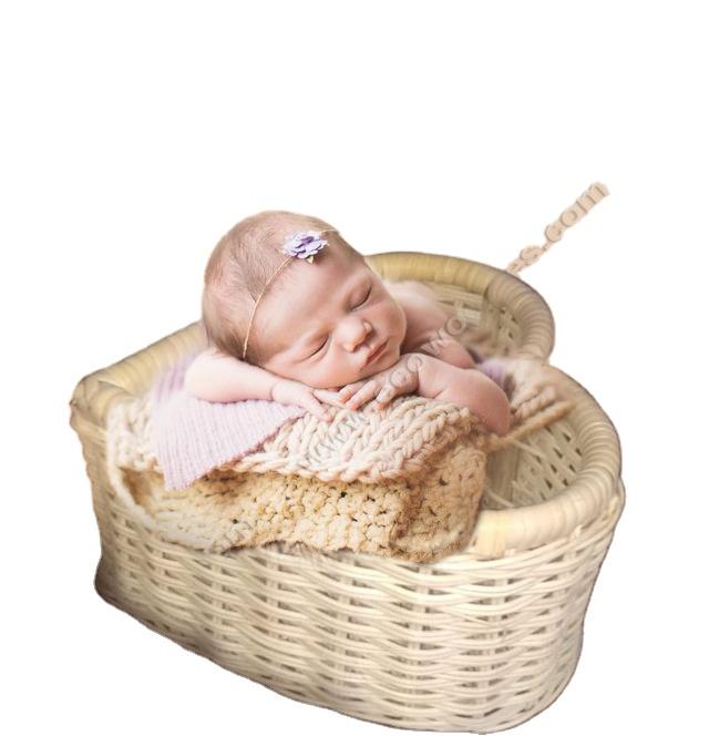 Red newborn basket props Baby basket Newborn photo props Baby props Baby photography props Baby photography nest Christmas photo props
