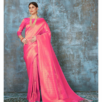 Indian Pure Silk Saree | Silk Fabric Sari