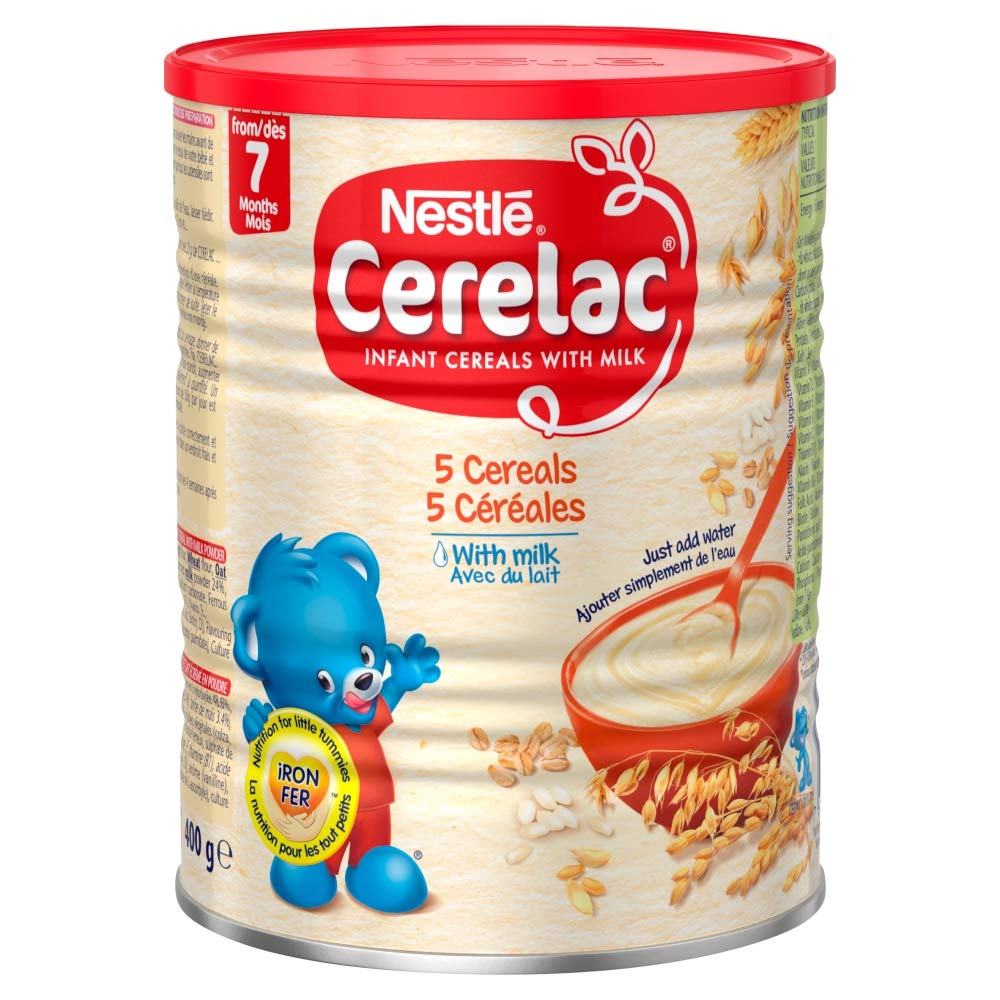 Детское питание Nestle Cerelac, кукуруза с молоком