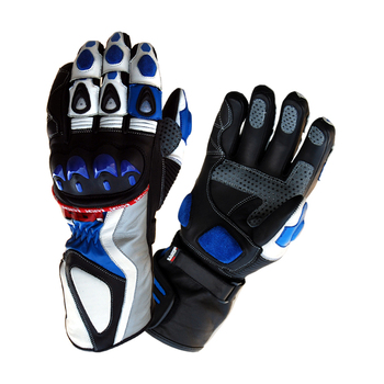 High quality leather protective motorbike gloves full finger motorcycle racing car racing gloves men and women S.M.L