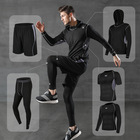 Hoodies Wholesale Running Fitness Clothing Sportswear Shirts Set Gym Hoodies Sports Wear Plus Size T-shirts Training Jackets Men's Suits