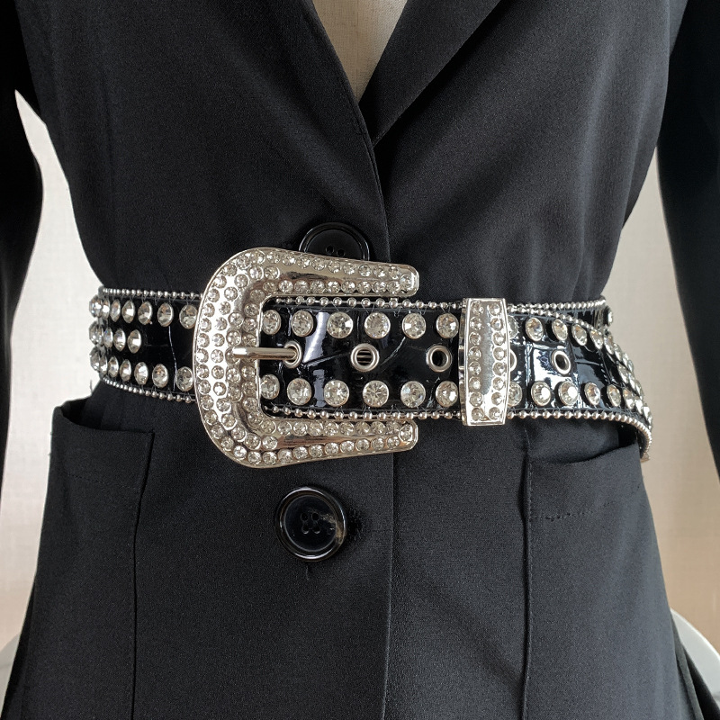 2021rhinestone belt rhinestone belts men bb simon belts bling rhinestone
