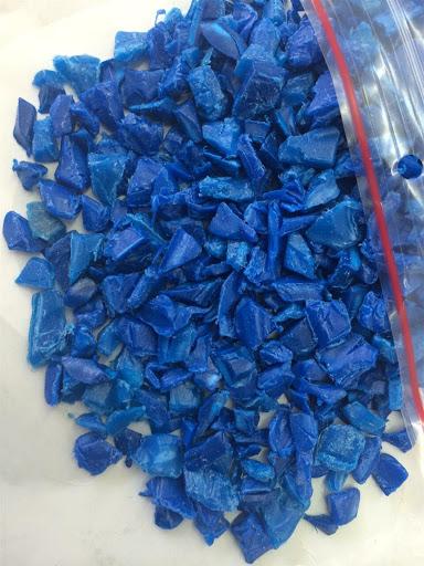 Качественный синий барабан HDPE, голубой барабан HDPE в тюках
