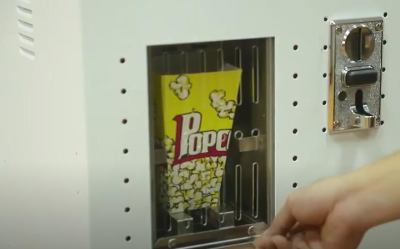 Автомат для производства попкорна с монетным управлением, автомат для производства попкорна с горячим воздухом