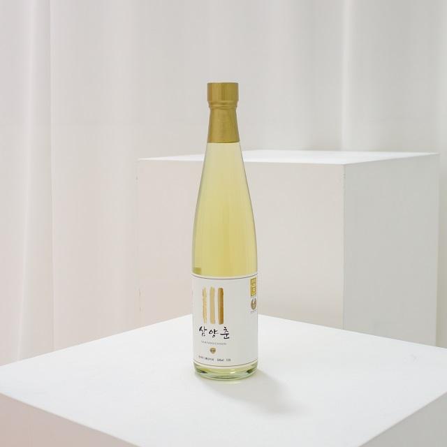 Традиционное корейское рисовое вино премиум-класса Samyangchoon Yakju мягкий сладкий и насыщенный аромат без сахара