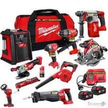 NEW MilwaukeeS M18 power tools combo kits 20V Cordless Lithium-Ion 15-Tool Combo Kit