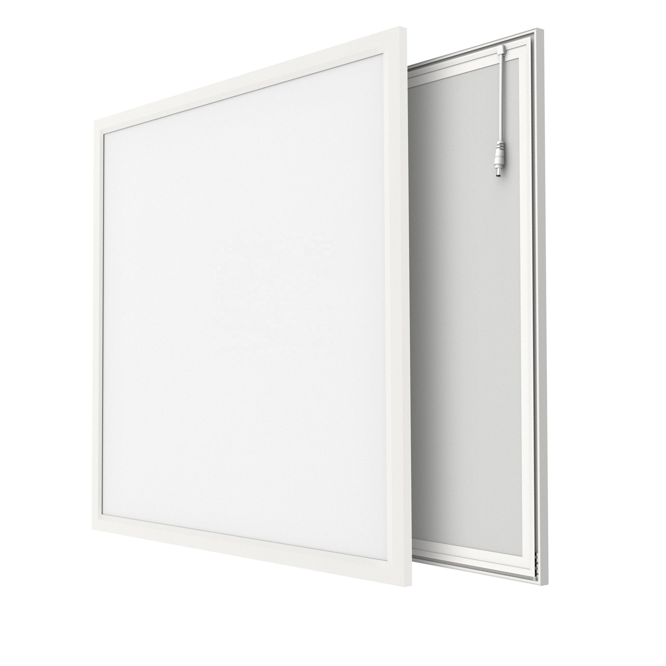 Zerun High quality 6060 40W 4000K 100LPW Ceiling recessed Edge-lit TUV GS CE RoHS LED panel light 60x60 Slim flat panel