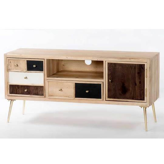 Trending Uk S Light Color Mango Wood Tv Stand With Colour Shades Buy Solid Wooden Living Room Bedroom Furniture Lcd Tv Wall Units Light Colour Shade Wooden Living Room Entertainment Tv Stand Unit Modern