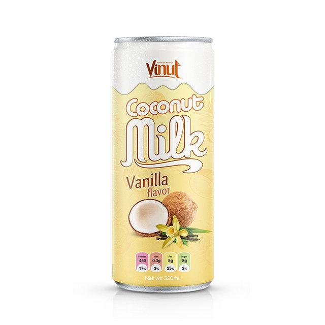 320ml VINUT Canned Coconut milk with Vanilla flavor