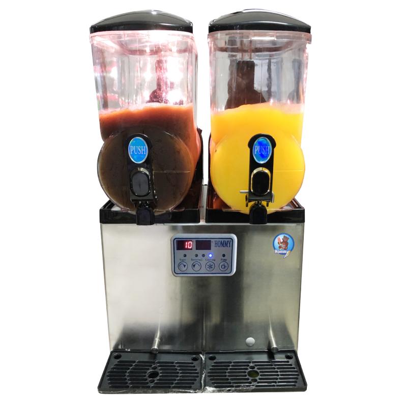 Высокое качество, низкая цена, sorbet granita slush machine с 2 резервуарами для ресторана и магазина напитков