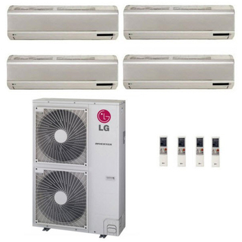 Cooling Ac Inverter Btu Conditioning Equipment lg Multi Split Heat Pump Bedroom Aircondition