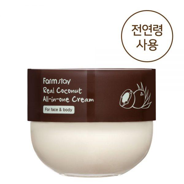 Корейская косметика/мягкий кокосовый увлажняющий крем для лица и тела для детей и взрослых для всех типов кожи