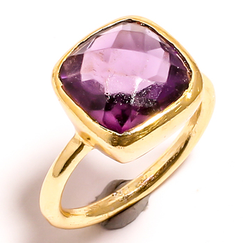 New Arrival Collection 2021 Of 925 Sterling Silver Amethyst Cushion Cut Ring Wholesale Manufacturer & Supplier