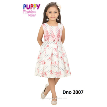 Flower design frock for all age group available in different designs