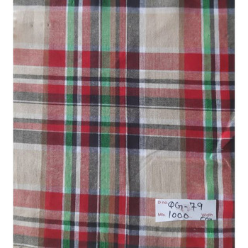 100% Cotton/tc Flannel fabric Solid Dyed Fabric / Printed Plaid Check design