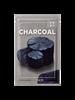 الفحم الطبيعي قناع ورقة 10 قطعة