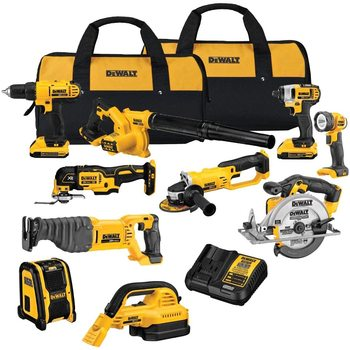 THE NEW DeWaltS 20-v power tools combo kits Max Lithium Ion Cordless ComboS(15-Tools) for Sale
