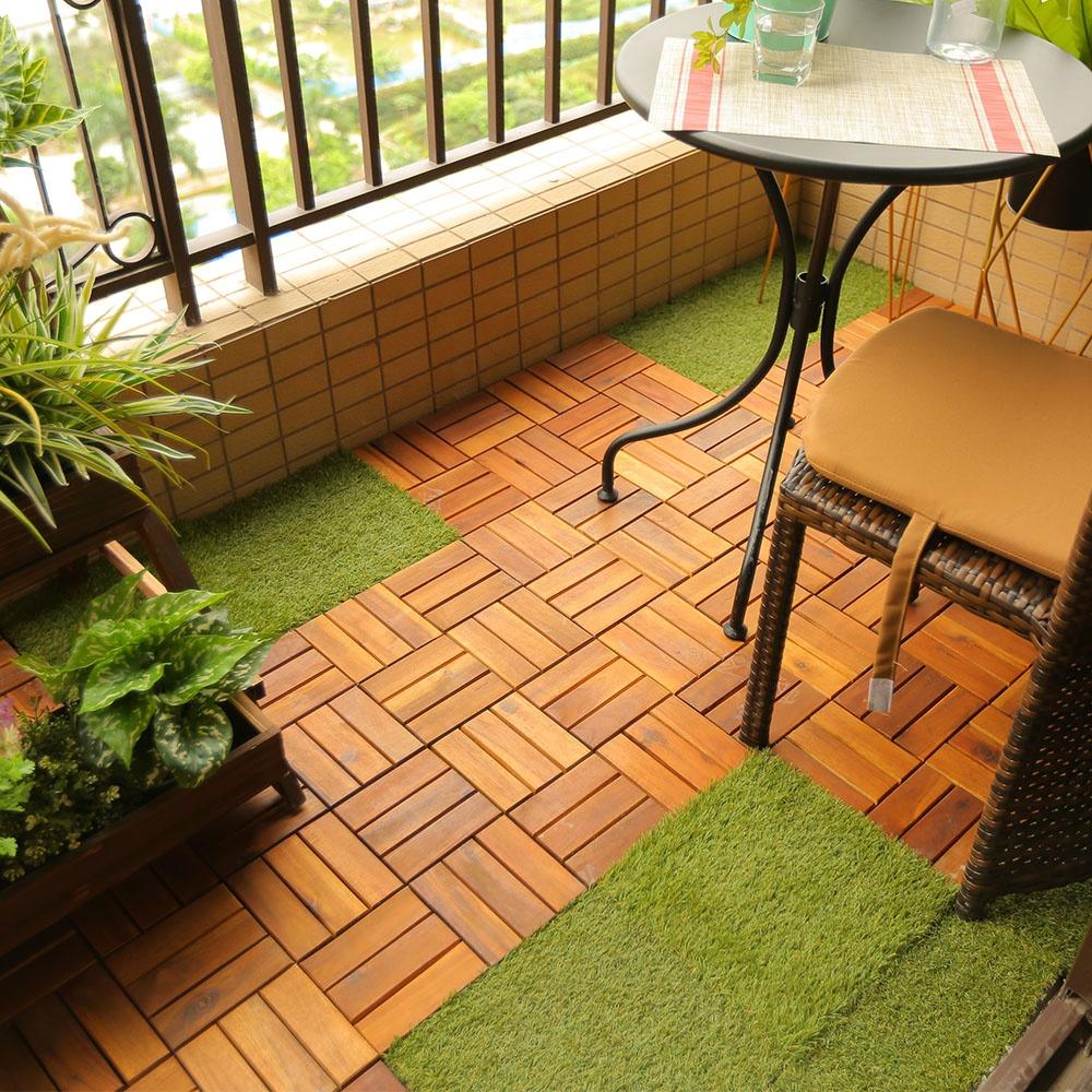 Outdoor Balcony Diy Interlocking Floor