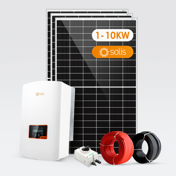 Solis Solar System 3KW 4KW 5KW 6KW 7KW 10KW On Grid Solar System 6000W 7000W 8000W 9000W 10000W Renewable Energy.
