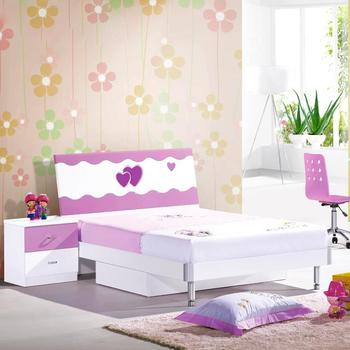 Safe kid furniture set kid princess bedroom bed girl bed girl bedroom