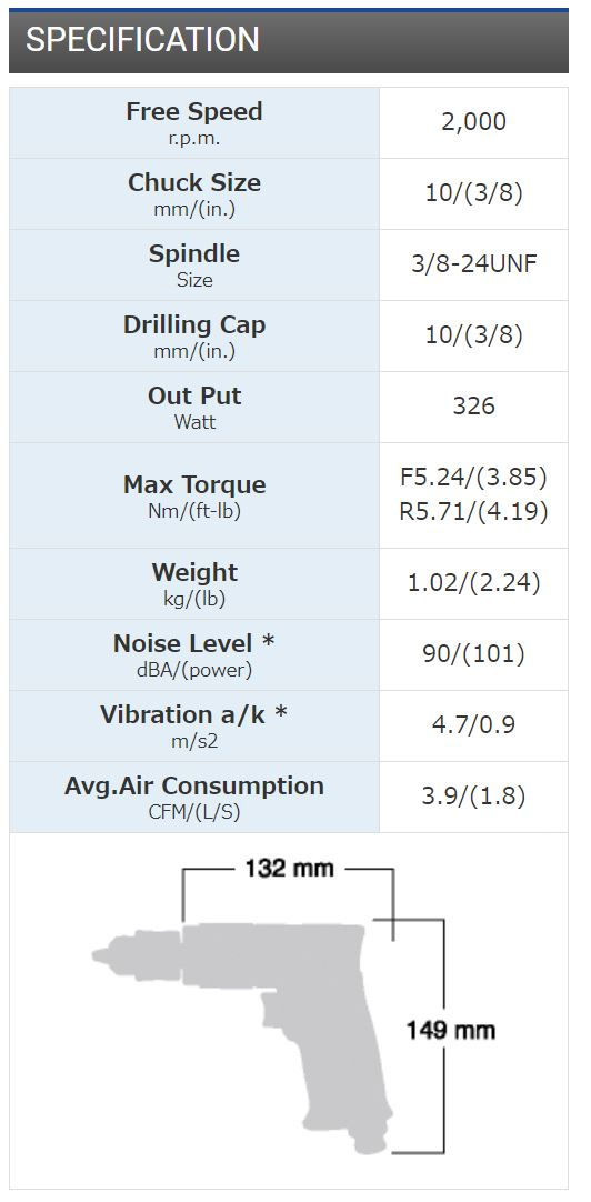 Revesible Drill SI-5305A