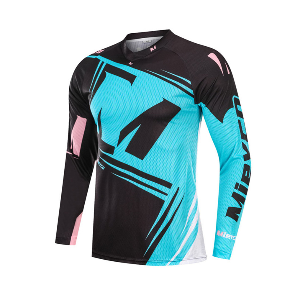 High Quality Men Cycling Jersey Rider Apparel Colorful Jersey ...