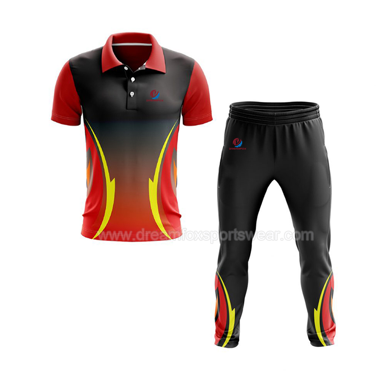 Sport Red And Black Cricket Jersey Sublimation Jersey Cricket Team Jersey Online Shopping New Zealand Cricket Tops Pants - Buy Red And Black Cricket ...