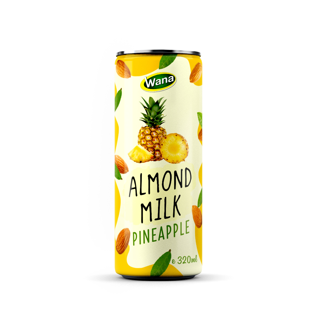 Natural Almond Milk Drink   Ready to drink // OEM & Private label for client