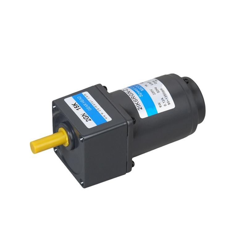 Микро-редукторный электродвигатель переменного тока 220 В 400 Вт 120 мм 50 Гц 60 Гц Реверсивный мотор переменного тока с зубчатой головкой